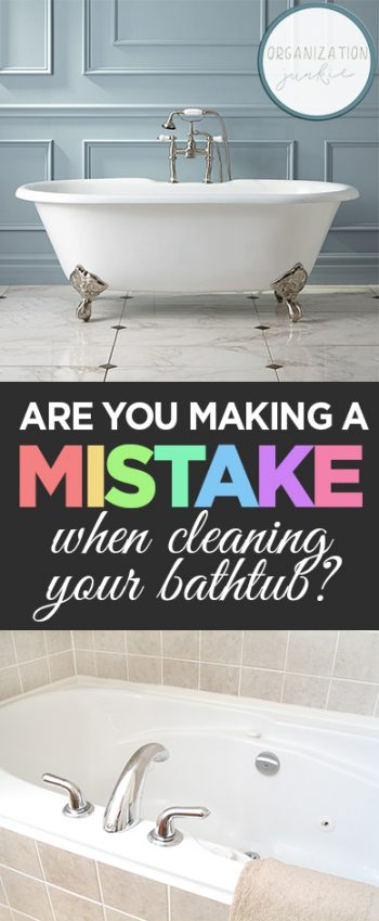 Are You Making a Mistake When Cleaning Your Bathtub? Cleaning, How to Clean Your Bathroom, Easy Ways to Clean Your Bathroom, Bathroom Tips and Tricks, Easy Ways to Clean Your Bathroom, Cleaning, Cleaning Hacks, Quick Ways to Clean Your Bathroom, Bathroom Cleaning 101