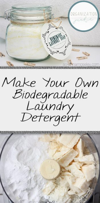 Make Your Own Biodegradable Laundry Detergent  DIY Laundry Detergent, How to Make Your Own Laundry Detergent, Homemade Products, DIY Chemical Free Cleaners, Chemical Free Cleaners, DIY House Cleaners, Popular Pin