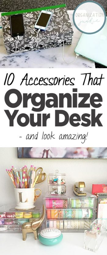 10 accessories that organize your desk and look amazing - How to organize your desk at home ...