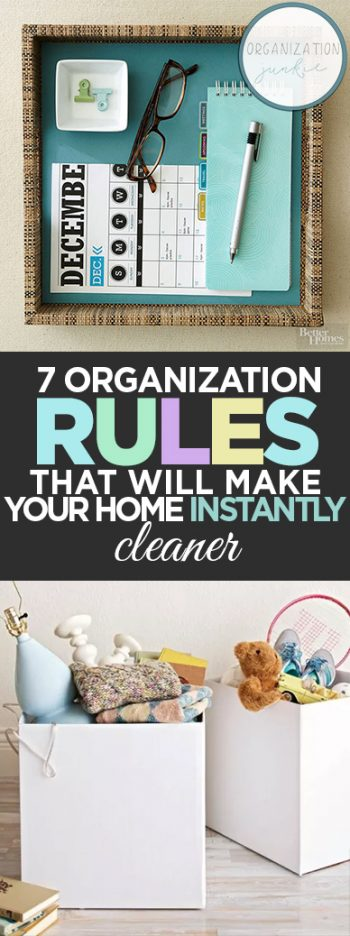 7 Organization Rules That Will Make Your Home INSTANTLY Cleaner| Home Organization, Home Organization Tips and Tricks, How to Organize Your Home, Home Organization Hacks, How to Organize Your Home, Organization Hacks, Organization 101, Clutter Free Living