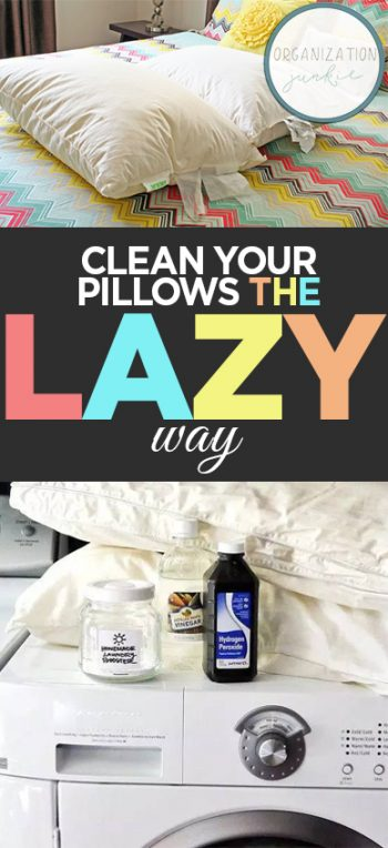 Clean Your Pillows the Lazy Way| How to Clean Your Pillows, Cleaning Your Pillows, Fast Ways to Clean Your Pillows, Clean Home, Clean Home Hacks, How to Clean Your Home, Clean Your Pillows, Popular Pin