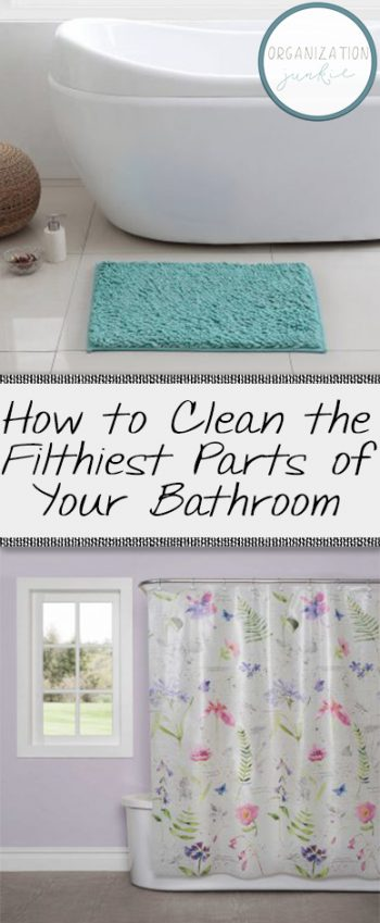 How to Clean the Filthiest Parts of Your Bathroom| Cleaning, Bathroom Cleaning Tips and Tricks, How to Clean Your Bathroom, Bathroom Organization, Quickly Clean Your Bathroom, Clean Your Bathroom Fast.