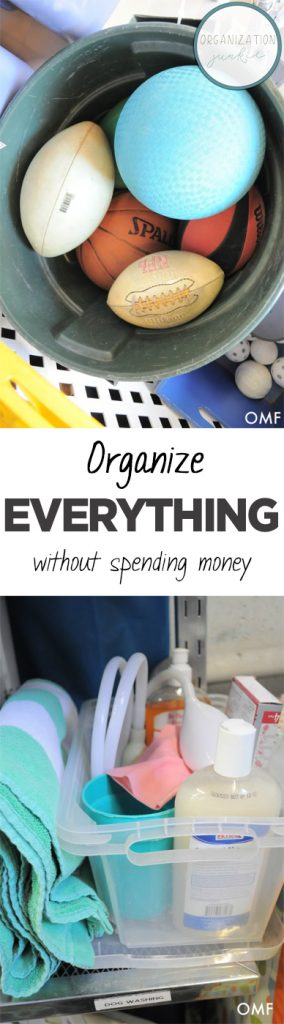 Organize EVERYTHING Without Spending Money  Organize Everything, Cheap Ways to Organize, How to Organize Fast, Inexpensive Ways to Organize Your Home, How to Declutter Your Home, Decluttering Your Home, Home Organization.