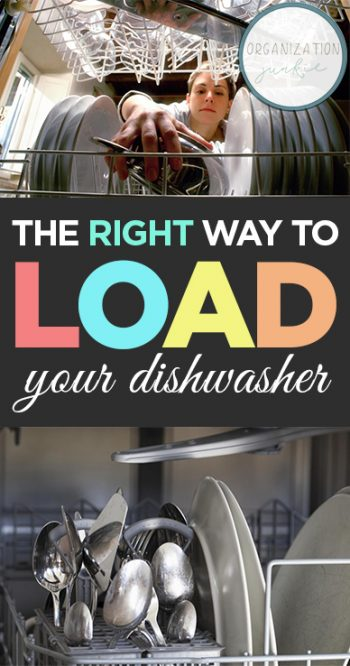 The RIGHT Way to Load Your Dishwasher|How to Load Your Dishwasher, Dishwasher Tips and Tricks, Load Your Dishwasher Fast, Cleaning, Clean Home, Home Cleaning Tips and Tricks, Home Organization, Popular Pin