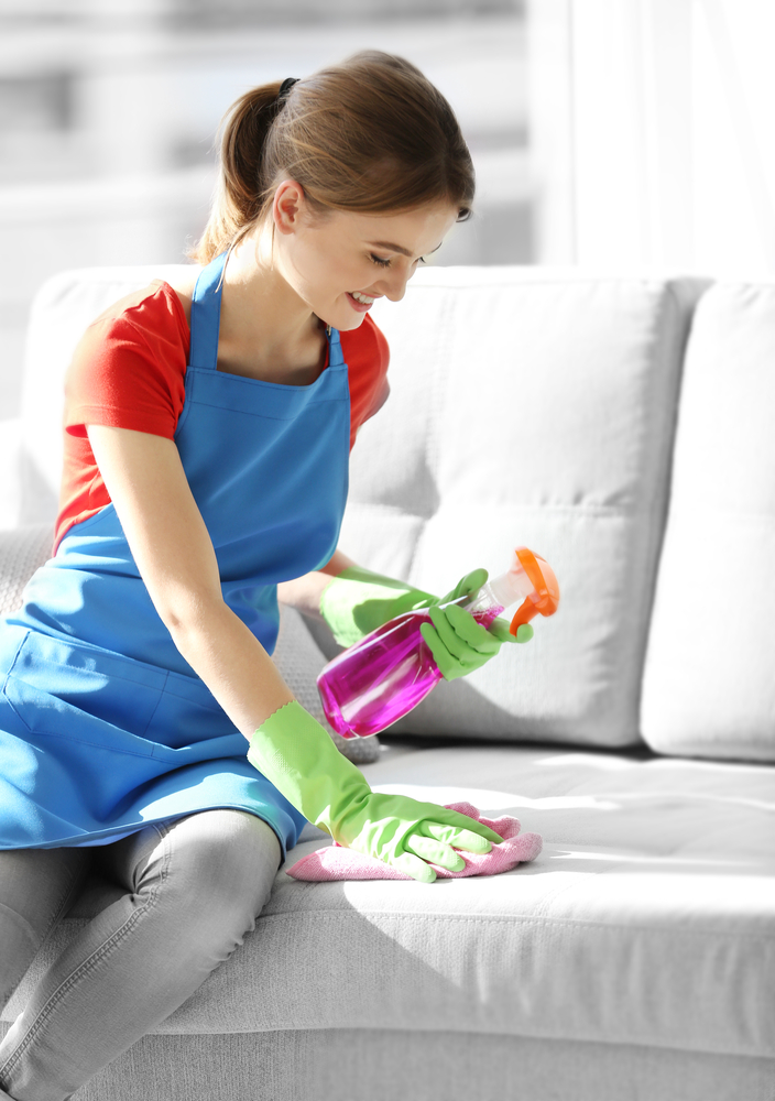 Got a microfiber couch? You need to know how to clean a microfiber couch with some easy tips! It's easy to keep it looking good as new! You will love what this cleaning spray can do!