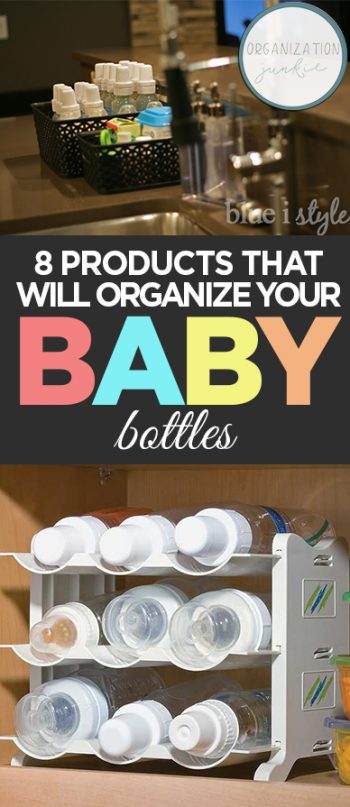 8 Products That Will Organize Your Baby Bottles| Organize Baby Bottles, How to Organize Baby Bottles, Organize Your Baby Bottles, Home Organization, Home Organization Hacks, Baby Bottle Organization Hacks. Popular Pin