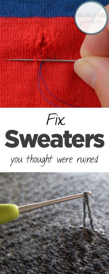Fix Sweaters You Thought Were Ruined| How to Fix Ruined Sweaters, Fixing Ruined Sweaters, How to Fix Ruined Clothing, Fixing Ruined Clothing, Popular Pin
