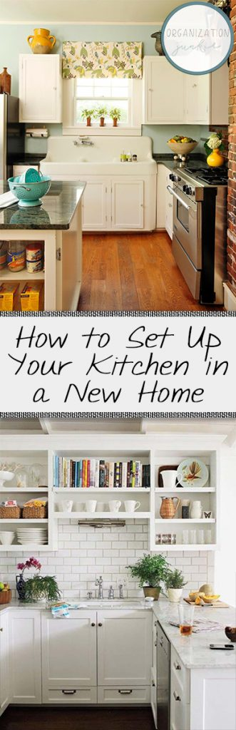 How to Set Up Your Kitchen in a New Home| How to Set Up Your Kitchen, Set Up Your Kitchen, How to Organize Your Kitchen, Fast and Easy Ways to Set Up Your Kitchen, How to Set Up a Kitchen In Your New Home, Popular Pin