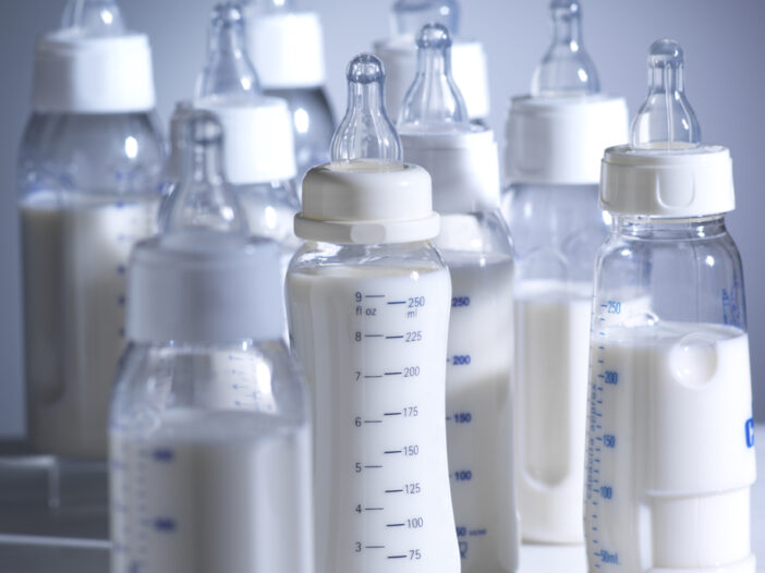 Baby Bottle Organization