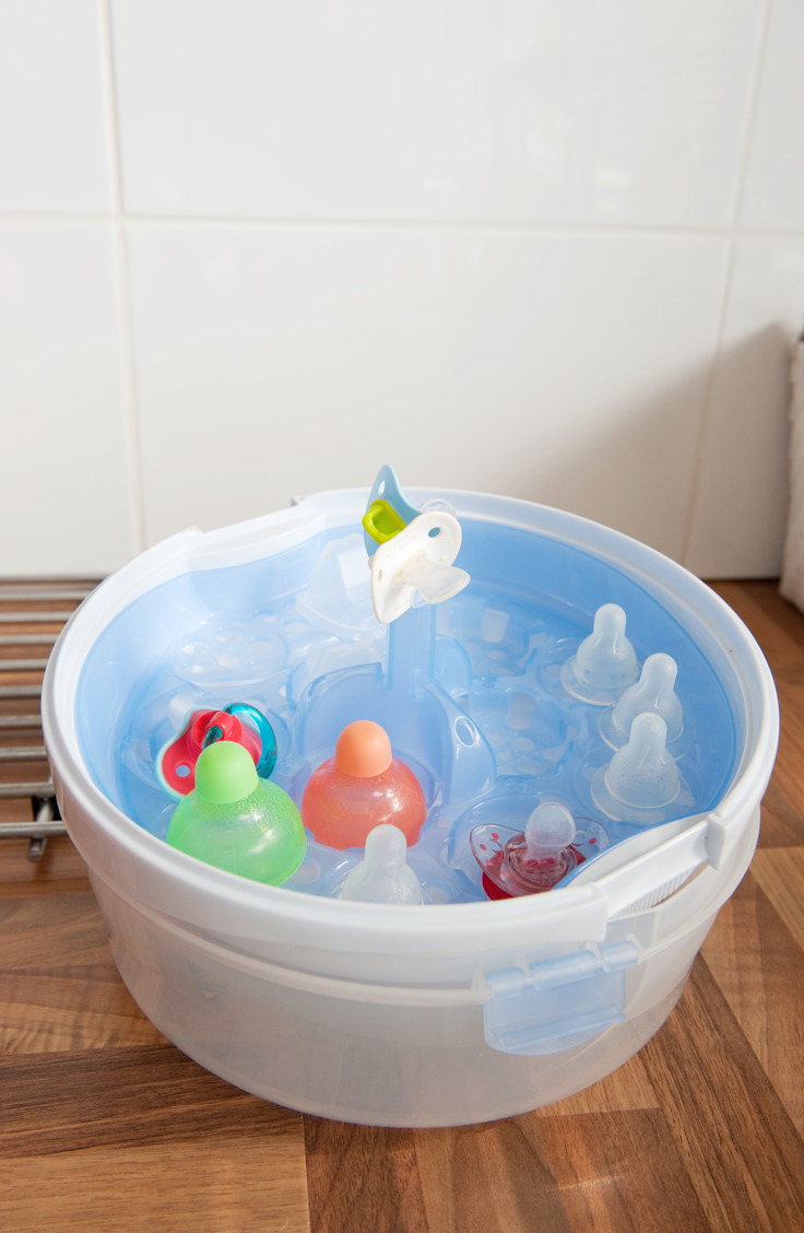 Better baby bottle organization can be yours with one of these 8 fantastic products! Plastic storage containers work great and you can get them for cheap!