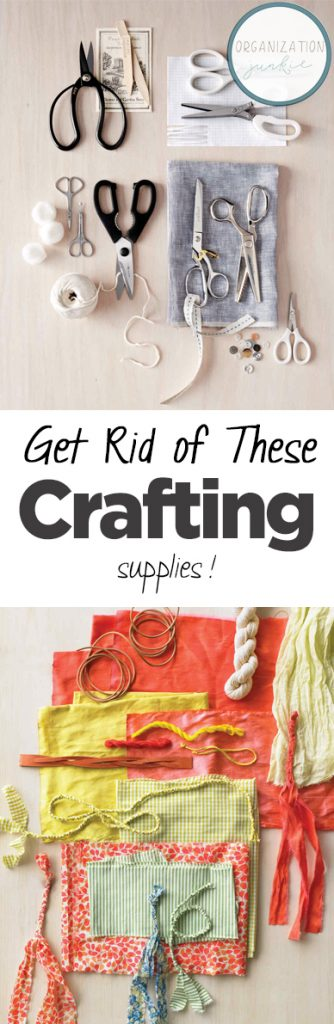 Craft Room Organization, How to Organize Your Craft Room, How to Declutter Your Crafting Supplies, Simple Ways to Declutter Your Craft Supplies, Popular Pin