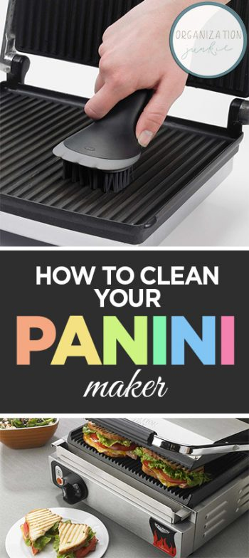 How to Clean Your Panini Maker| Cleaning, Cleaning Hacks, How to Clean Your Panini Maker, Cleaning Tips and Tricks, Clean Your Small Appliances, How to Clean Your Appliances, Popular Pin