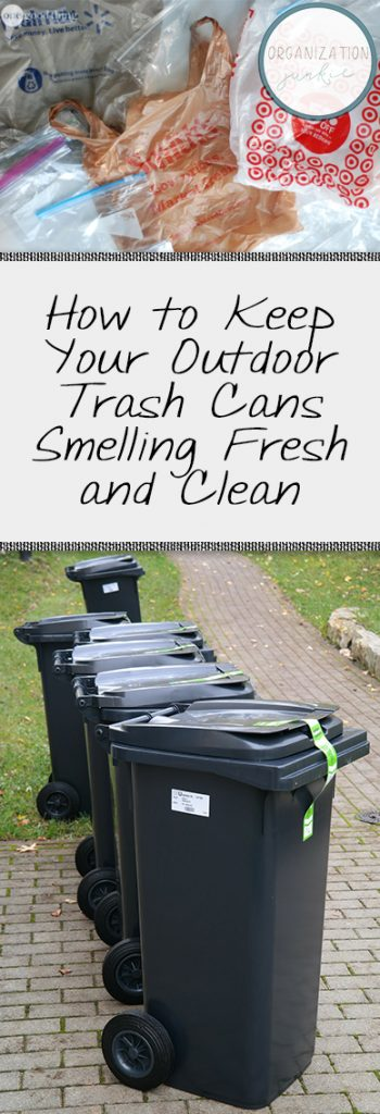 Cleaning Outdoor Trash Cans, How to Clean Outdoor Trash Cans, Home Cleaning Hacks, Cleaning Tips and Tricks, Outdoor Cleaning Hacks, Popular Pin