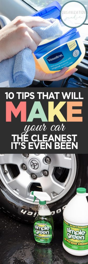 How to Make Your Car Clean, Car Cleaning Hacks, How to Make Your Car Super Clean, Car Cleaning Tips and Tricks, Super Easy Ways to Clean Your Car, Popular Pin