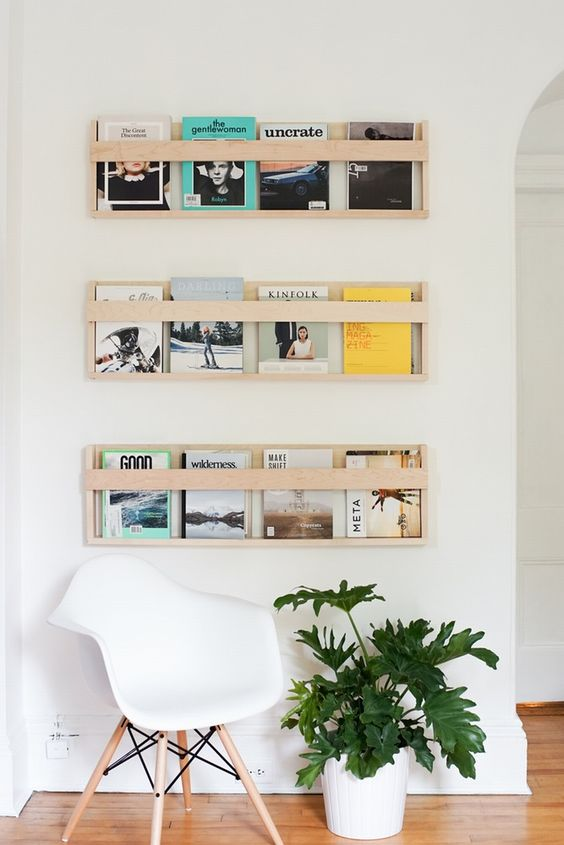 Quick Ways to Get Rid of Magazine Clutter  Declutter Your Home, Magazine Decluttering, Organize and Store Magazines, Magazine Storage, Magazine Storage Hacks, Popular Pin