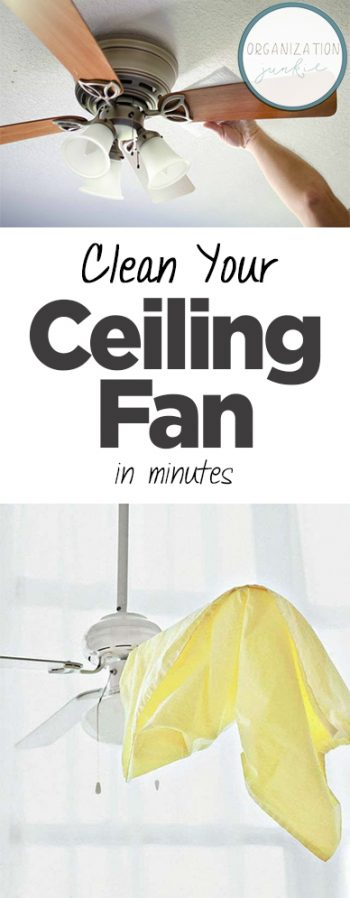 How to Clean Your Ceiling Fan, Cleaning Your Ceiling Fan, Home Cleaning TIps and Tricks, Clean Home, How to Clean Your Entire Home, Simple Ways to Clean Your Home, Popular Pin