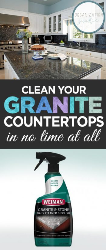 Clean Your Granite Countertops in No Time at All| How to Clean Granite Countertops, Simple Ways to Clean Granite, Cleaning Granite Countertops, Cleaning, Cleaning Hacks, Simple Ways to Clean Granite, Cleaning Granite, Popular Pin