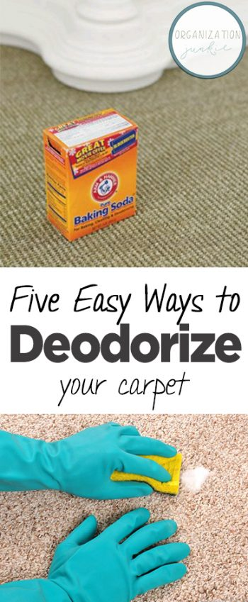 Five Easy Ways to Deodorize Your Carpet| How to Clean Your Carpet, Clean and Deodorize Your Carpet, How to Clean Your Carpet, All Natural Ways to Freshen Your Carpet, Freshen Your Carpet Naturally, Popular Pin