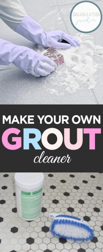 Make Your Own Grout Cleaner  Grout Cleaner, DIY Grout Cleaner, Homemade Grout Cleaner, Tile Care TIps and Tricks, Grout Care TIps, Homemade Cleaning Products, Popular Pin