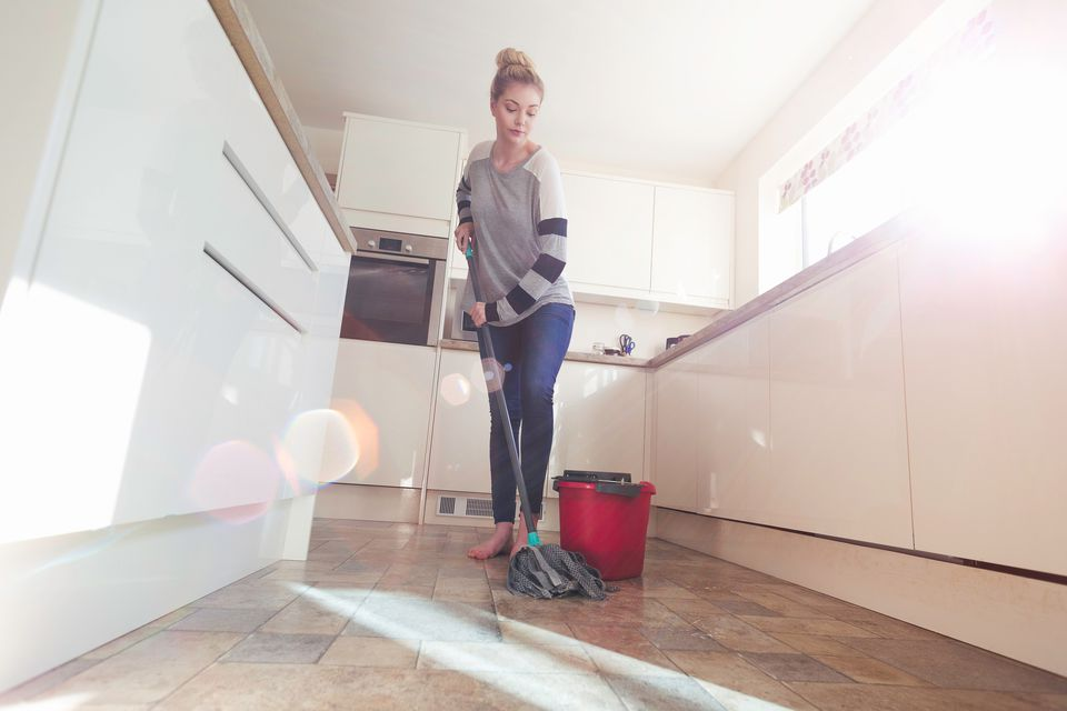 Clean Your Laminiate Flooring (Easily!)  Clean Your Flooring, How to Clean Your Flooring, Easily Clean Your Flooring, Fast Ways to Clean Your Flooring, Cleaning, Cleaning Tips and Tricks, Home Cleaning Tips, Popular Pin
