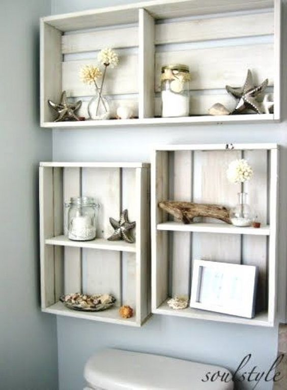Over-the-Toilet Storage Ideas for Your Home  Storage Ideas, Bathroom Storage Ideas, Bathroom Storage, Organization and Storage, Bathroom Hacks. #Storage #BathroomStorage #Organization #Bathroom