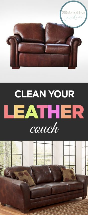 Clean Your Leather Couch Cleaning Hacks How To