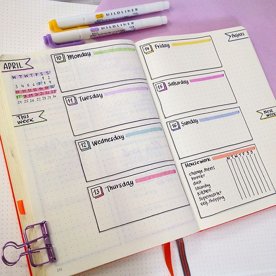 Organize Your Life With Bullet Journals| Bullet Journal, Organization, Organization With Bullet Journals, Bullet Journal Hacks, Home Organization, Home Organization Tips and Tricks, Home Hacks, #Organization #BulletJournal #BulletJournalHacks