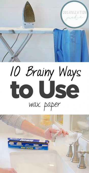 10 Brainy Ways to Use Wax Paper| How to Use Wax Paper, Wax Paper Hacks, Home Hacks, Life Hacks, Popular Pin #LifeHacks #WaxPaper