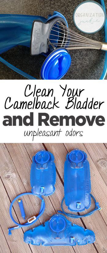 Clean Your Camelback Bladder and Remove Unpleasant Odors| Cleaning Hacks, How to Clean Your Camelback, Cleaning Tips and Tricks, DIY Cleaning, Popular Pin #Cleaning #CleaningTips