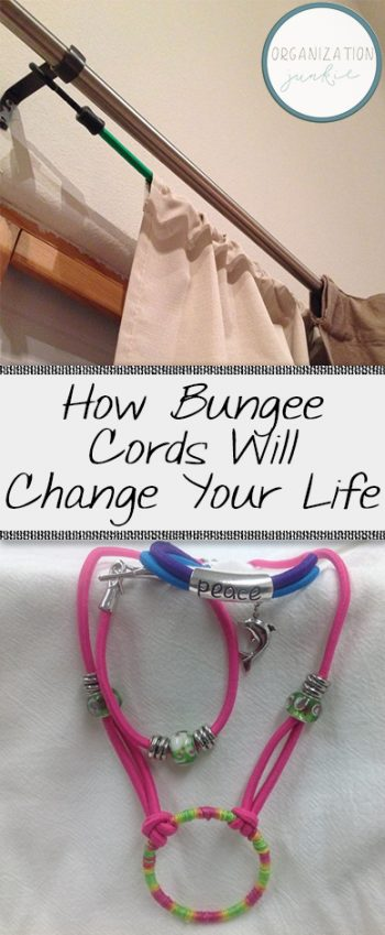How Bungee Cords Will Change Your Life  Bungee Cords, Bungee Cord Hacks, Life Hacks, Home Hacks, Uses for Bungee Cords, Home DIYs, Popular Pin #BungeeCords #LifeHacks