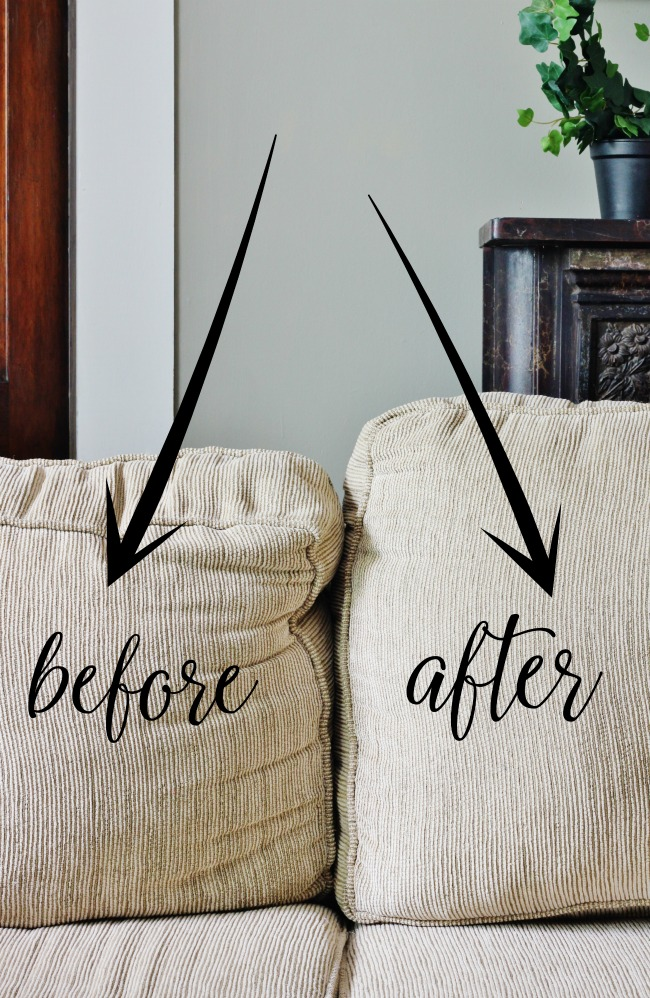 Fix Your Sagging Sofa Cushions| Home Hacks, Fix Sagging Couch Cushions, Home Improvement Hacks #HomeHacks