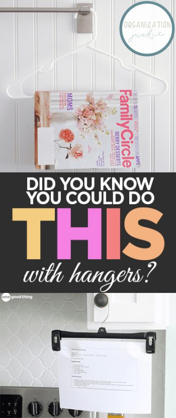 Did You Know You Could Do THIS With Hangers?  Hangers, Hanger Hacks, Uses for Hangers, Uses for Household Stuff, Weird Uses for Household Stuff, DIY Home, DIY Home Hacks, Easy Home Hacks, Hanger Home Hacks, Popular Pin #Home #Hangers #Hacks