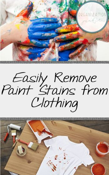 Easily Remove Paint Stains from Clothing| Paint Stains, Removing Paint Stains, How to Remove Paint Stains from Clothing, Clothing Hacks, DIY Clothing Hacks, How to Remove Paint Stains, Home Hacks, Easy Home Hacks #StainRemoval #PaintStains