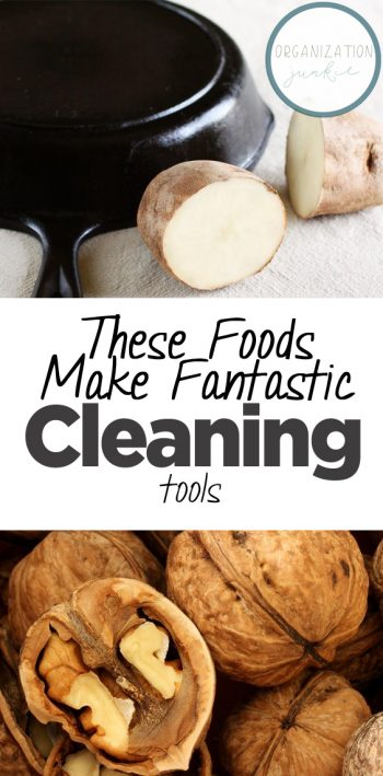 These Foods Make Fantastic Cleaning Tools| Cleaning, Cleaning Hacks, Cleaning Tips and Tricks, Home Cleaning, Home Cleaning TIps and Tricks, Cleaning 101, Clean Your Home, How to Clean Your Home #Cleaning #HomeCleaning