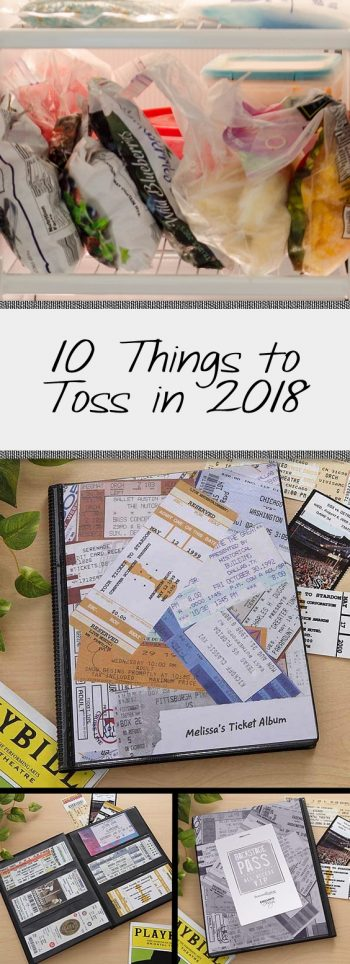 10 Things to Toss in 2018| Decluttered, Decluttering Hacks, Decluttering TIps and Tricks, How to Declutter Your Life, Easily Declutter Your Life, Popular Pin #Decluttering #DeclutterYourLife #CleanHome