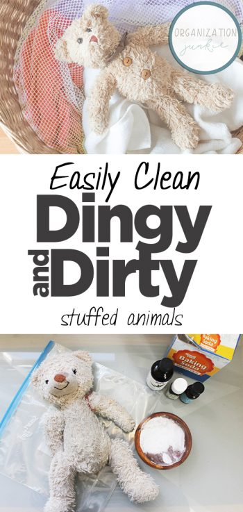 Easily Clean Dingy and Dirty Stuffed Animals| Clean, Cleaning Hacks, Home Cleaning, Home Cleaning Tips and Tricks, Cleaning 101, Cleaning Tips and Tricks, Easy Cleaning Tricks, Clean Stuffed Animals, How to Clean Stuffed Animals #Clean #StuffedAnimals #CleanHome