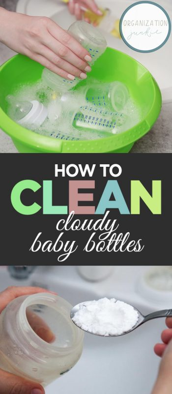How to Clean Cloudy Baby Bottles| Cleaning, Cleaning Hacks, Cleaning TIps, Cleaning Home, Cleaning Home Hacks #Cleaning #CleaningHacks #CleaningHomeHacks