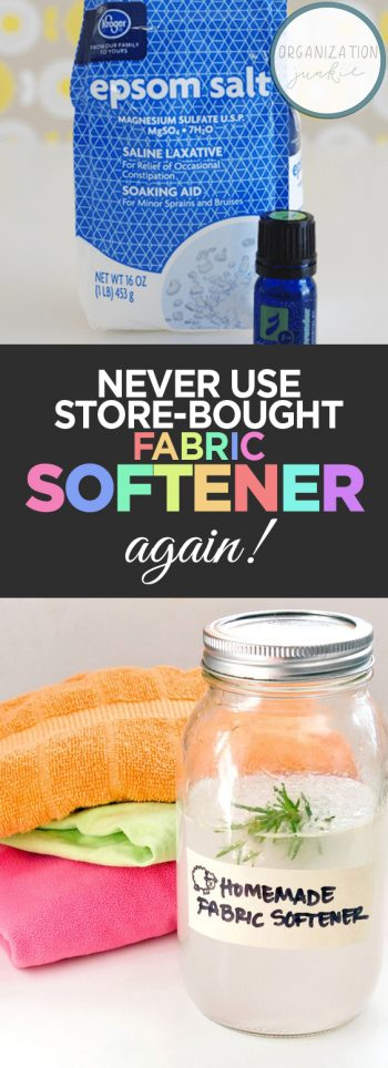 Never Use Store-Bought Fabric Softener Again!| Fabric Softener, DIY Fabric Softener, Homemade Products, DIY Products, DIY Cleaning Prodcuts, DIY Cleaning #DIYCleaningProducts #Cleaning #FabricSoftener