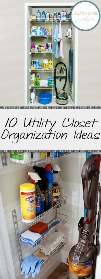 10 Utility Closet Organization Ideas| Closet, Closet Organization, Closet Organization Ideas, Closet Organization DIY, Closet Organization Ideas Small, Organization