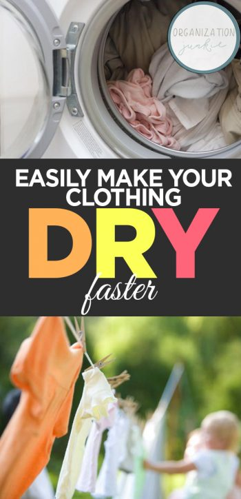 Easily Make Your Clothing Dry Faster| Life Hacks, Life Hacks Cleaning, Life Hacks,  Laundry Hacks, Laundry Hacks DIY, Cleaning, Cleaning Tips, Cleaning Hacks #LifeHacksCleaning #LaundryHacks #Cleaning #CleaningTips