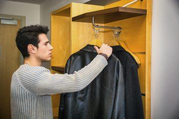 mudroom organization-coat racks