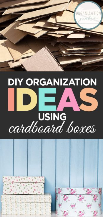 DIY Organization Ideas | Get Organized | DIY Organization with Cardboard | How to Get Organized with Cardboard | Organization