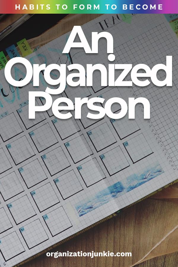Organized Person