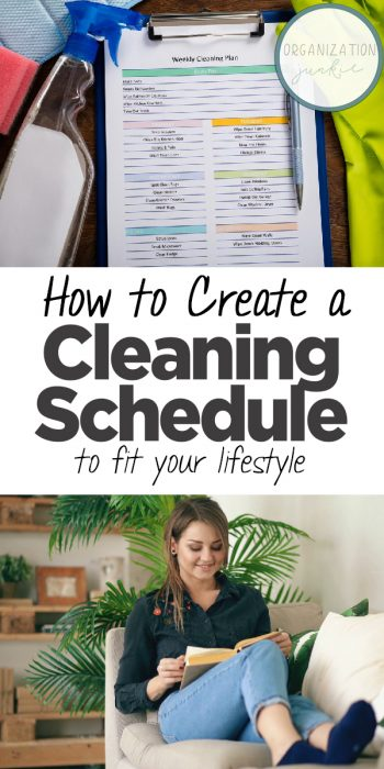 Cleaning Schedule   Cleaning Schedule Ideas   How to Make a Cleaning Schedule   Home Cleaning Schedule   How to Make a Home Cleaning Schedule