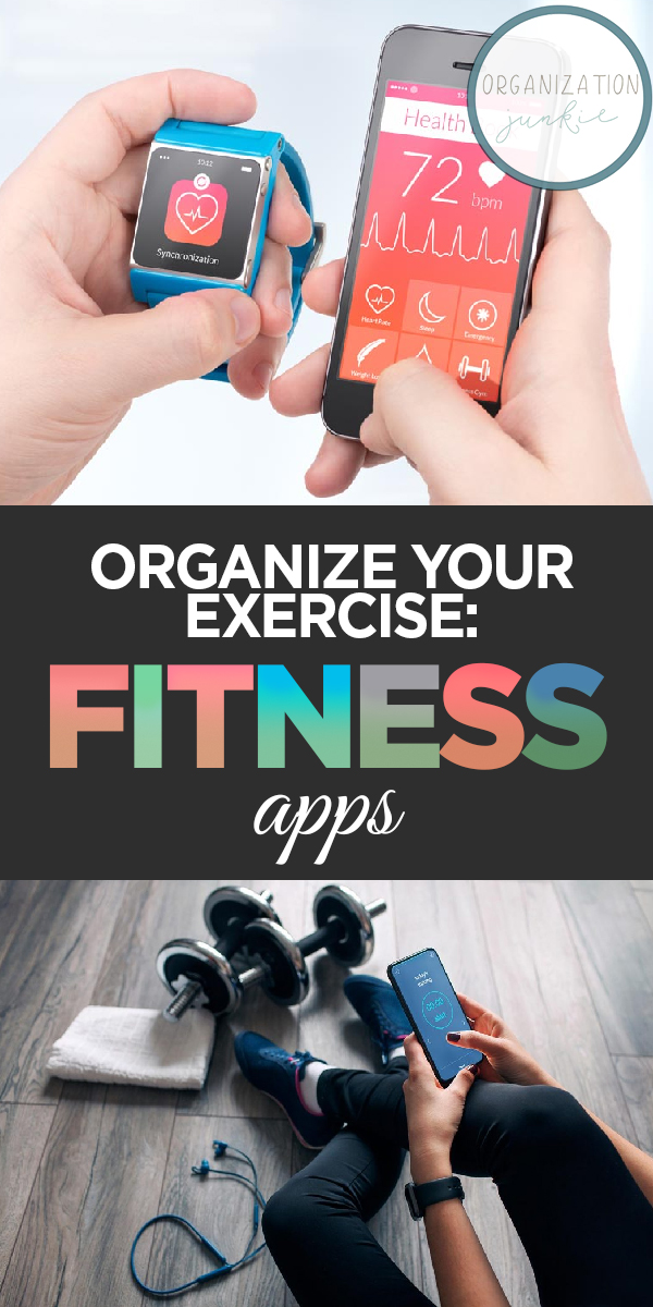 fitness apps | organize your fitness | fitness | health | health apps | phone apps | organize | exercise