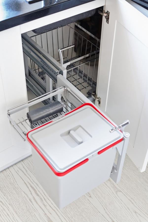 how to | kitchen | organize | organize under the sink | organization | cabinet organization | kitchen sink organization | sink organization | organization tips