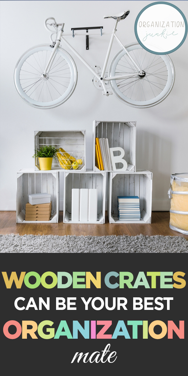 wooden crates | organize | organize with wooden crates | organization | organization tips | organization tricks | tips and tricks for organizing