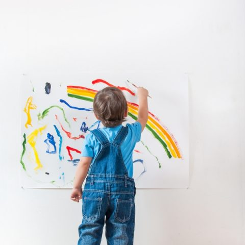 What To Do With Your Child's Artwork