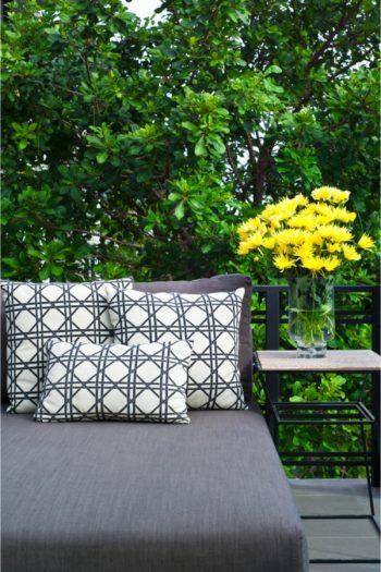 Store and organize patio furniture | organize | patio decor | storage | store and organize patio decor | patio furniture