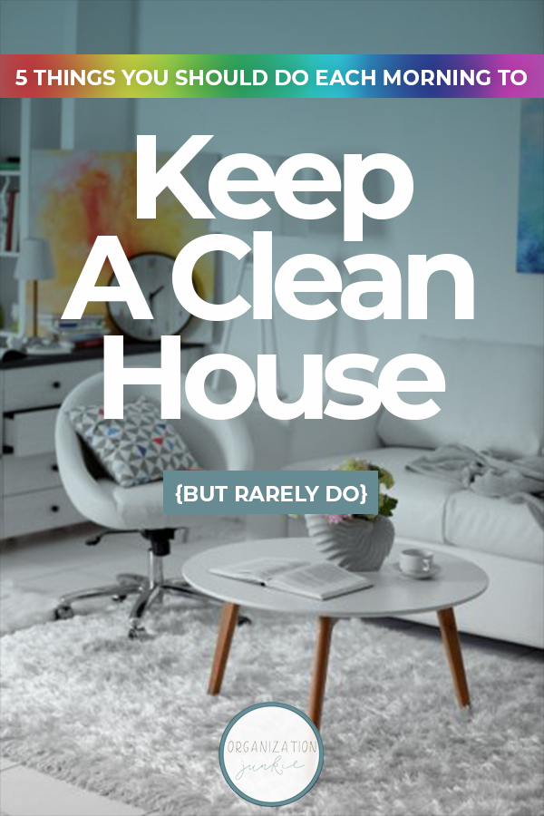Keep A Clean House   clean   cleaning   tips and tricks   clean house   how to   how to keep a clean house